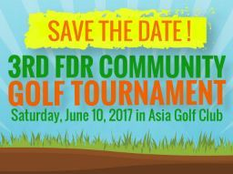 SIGN UP: FDR COMMUNITY GOLF TOURNAMENT