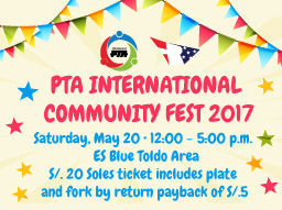 PTA INTERNATIONAL COMMUNITY FEST