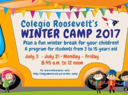 COLEGIO ROOSEVELT'S  WINTER CAMP 2017