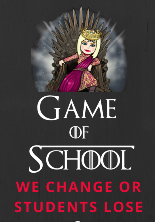 In the Game of School, We Change or Students Loose